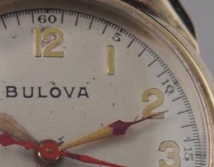 Bulova 10AH original dial