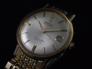Omega 560 Seamaster De Ville Side Close up