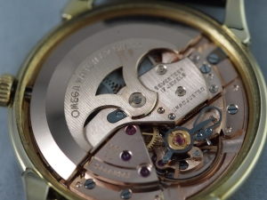Omega Linen Dial Movement