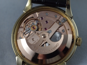 Omega Linen Dial Movement 2