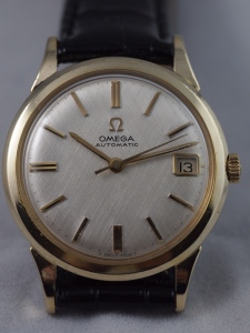 Omega Linen Dial Feature