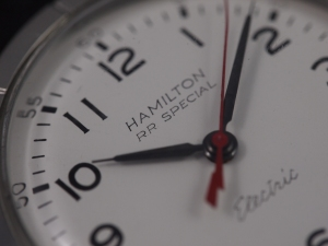 Hamilton Electric Stainless Dial