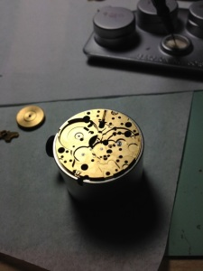 Omega Pre-Bond Movement Assembly 1