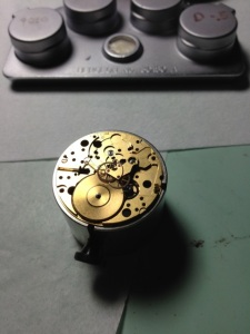 Omega Pre-Bond Movement Assembly 2