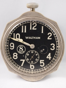 Waltham Car Clock Front