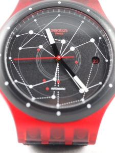 Sistem51 Red Dial Close-up