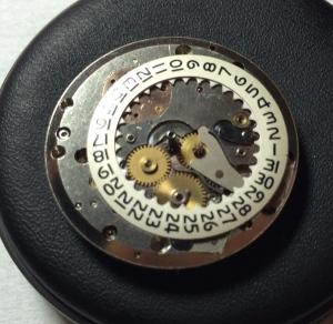 Genta Polerouter Offset Date Wheel