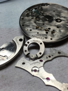 Howard RR Chronometer Movement Parts