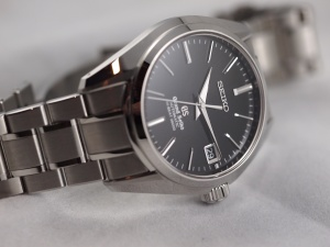 Grand Seiko Crown Down