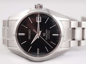 Grand Seiko Crown Up